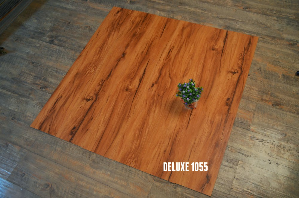 simili trải sàn - sàn nhựa giả gỗ Deluxe 1055