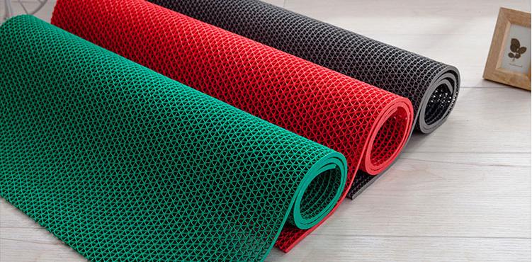 Thảm nhựa lưới dày 5mm chống trơn trượt nhà tắm