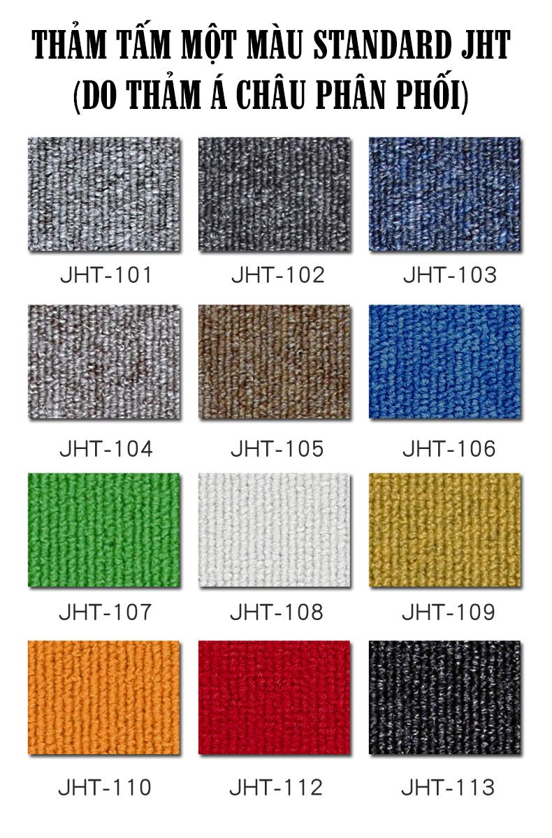 Thảm tấm một màu Standard giá rẻ tại TPHCM