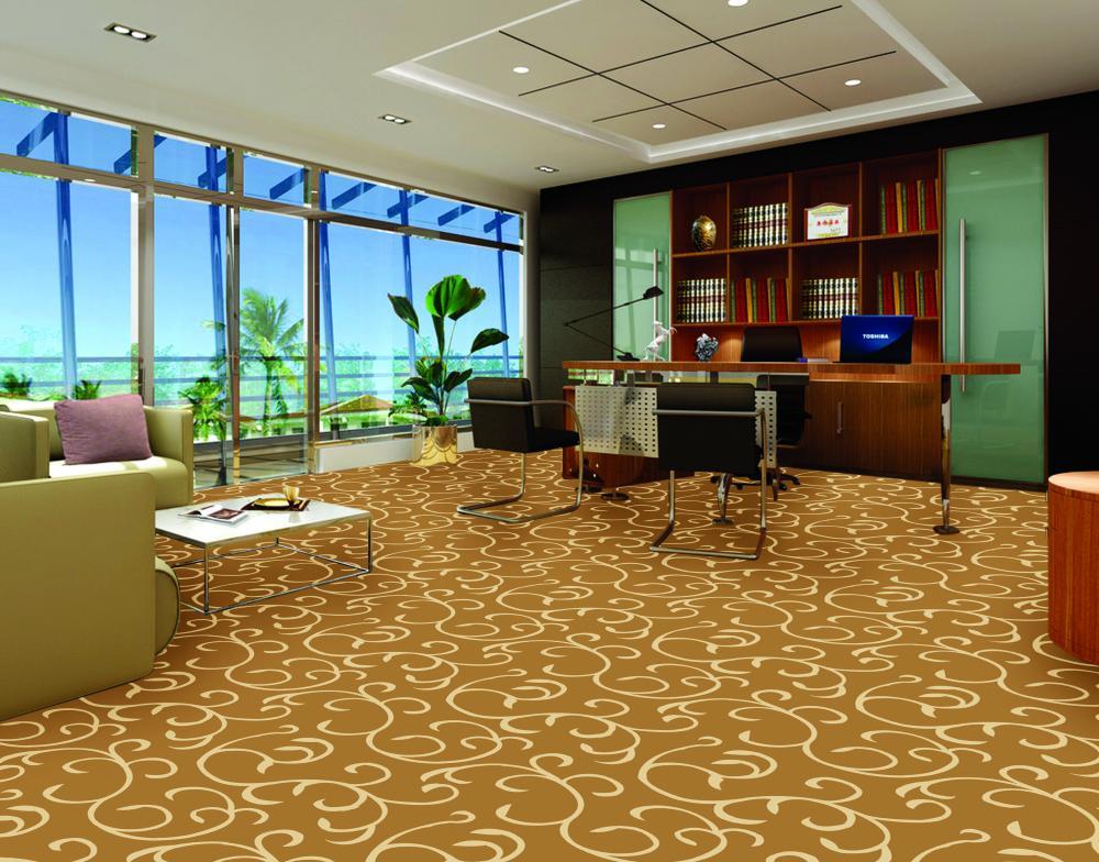 Thảm trải sàn cao cấp tạo nên đẳng cấp cho không gian văn phòng