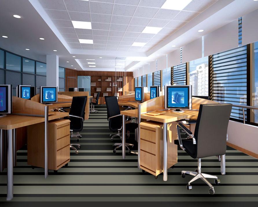 Thảm trải sàn sợi tổng hợp có phù hợp với không gian văn phòng không?
