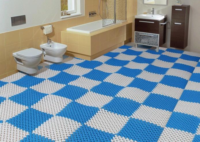 Làm sao lựa chọn thảm trải sàn không thấm nước cho nhà tắm