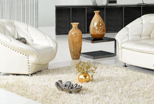 Trang trí nội thất không gian với thảm lông xù